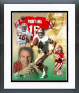 San Francisco 49ers Joe Montana - Legends of the Game Composite Framed Photo