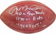 San Francisco 49ers Joe Montana Signed NFL Duke Football