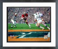 San Francisco 49ers Joe Montana Super Bowl XIX 1985 Action Framed Photo