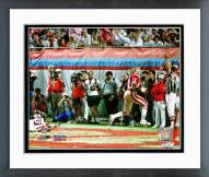 San Francisco 49ers John Taylor Super Bowl XXIII 1989 Action Framed Photo