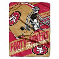 San Francisco 49ers Livin' Large Blanket