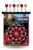 San Francisco 49ers Magnetic Dart Board