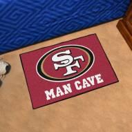 San Francisco 49ers Man Cave Starter Mat
