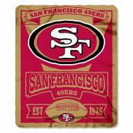 San Francisco 49ers Marque Fleece Blanket