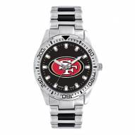 San Francisco 49ers Men's Heavy Hitter Watch