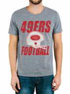 San Francisco 49ers Men's Touchdown Tri-Blend Tee