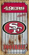 San Francisco 49ers Metal Wall Art