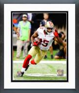 San Francisco 49ers Michael Crabtree 2014 Action Framed Photo