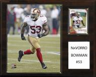 "San Francisco 49ers NaVorro Bowman 12"" x 15"" Player Plaque"