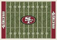 San Francisco 49ers NFL Home Field Area Rug