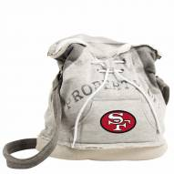 San Francisco 49ers NFL Hoodie Duffle
