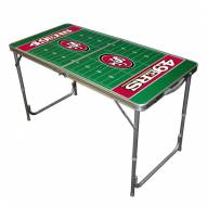 San Francisco 49ers NFL Outdoor Folding Table