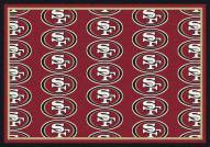San Francisco 49ers NFL Repeat Area Rug