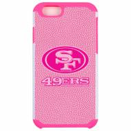 San Francisco 49ers Pink Pebble Grain iPhone 6/6s Plus Case