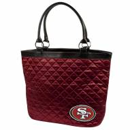 San Francisco 49ers Quilted Tote Bag