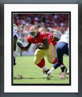 San Francisco 49ers Quinton Dial 2014 Action Framed Photo