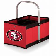 San Francisco 49ers Red Urban Picnic Basket