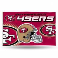 San Francisco 49ers 3' x 5' Banner Flag