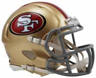 San Francisco 49ers Riddell Speed Mini Replica Football Helmet