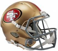 San Francisco 49ers Riddell Speed Replica Football Helmet