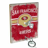 San Francisco 49ers Ring Toss Game