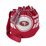 San Francisco 49ers Ripple Drawstring Bucket Bag