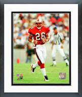 San Francisco 49ers Rod Woodson Action Framed Photo