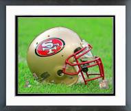San Francisco 49ers San Francisco 49ers Helmet Framed Photo