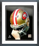 San Francisco 49ers San Francisco 49ers Helmet Spotlight Framed Photo
