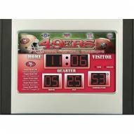 San Francisco 49ers Scoreboard Desk Clock