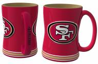 San Francisco 49ers Sculpted Relief Coffee Mug