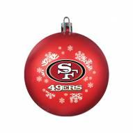 San Francisco 49ers Shatterproof Ball Ornament
