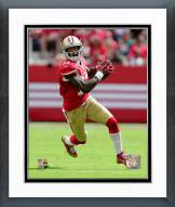 San Francisco 49ers Steve Johnson 2014 Action Framed Photo