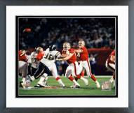 San Francisco 49ers Steve Young Action Framed Photo