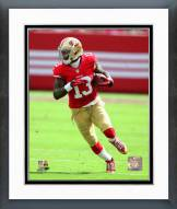 San Francisco 49ers Stevie Johnson 2014 Action Framed Photo