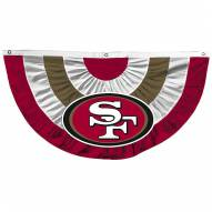 San Francisco 49ers Team Bunting