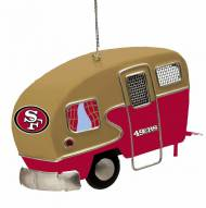 San Francisco 49ers Team Camper Ornament