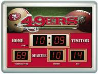 San Francisco 49ers Thermometer Scoreboard Clock
