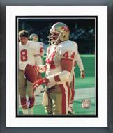 San Francisco 49ers Tom Rathman Action Framed Photo