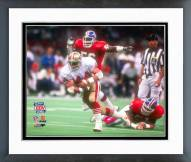 San Francisco 49ers Tom Rathman Super Bowl XXIV 1990 Action Framed Photo