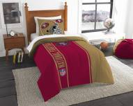 San Francisco 49ers Twin Comforter & Sham Set