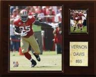 "San Francisco 49ers Vernon Davis 12 x 15"" Player Plaque"