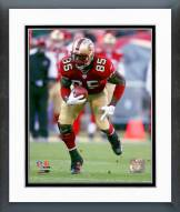 San Francisco 49ers Vernon Davis 2007 Action Framed Photo