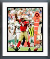 San Francisco 49ers Vernon Davis 2008 Action Framed Photo
