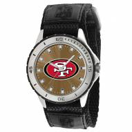 San Francisco 49ers Veteran Velcro Mens Watch