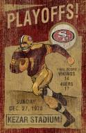 San Francisco 49ers Vintage Wall Art