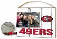 San Francisco 49ers Weathered Logo Photo Frame