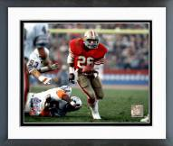 San Francisco 49ers Wendell Tyler Super Bowl XIX 1985 Action Framed Photo