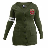 San Francisco 49ers Women's Olive Varsity Cardigan