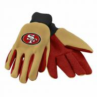 San Francisco 49ers Work Gloves